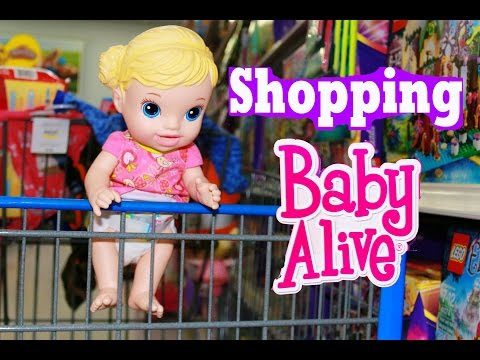 Baby Alive GOES SHOPPING w AllToyCollector's Baby
