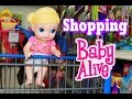 baby alive goes shopping w alltoycollector 39 s baby