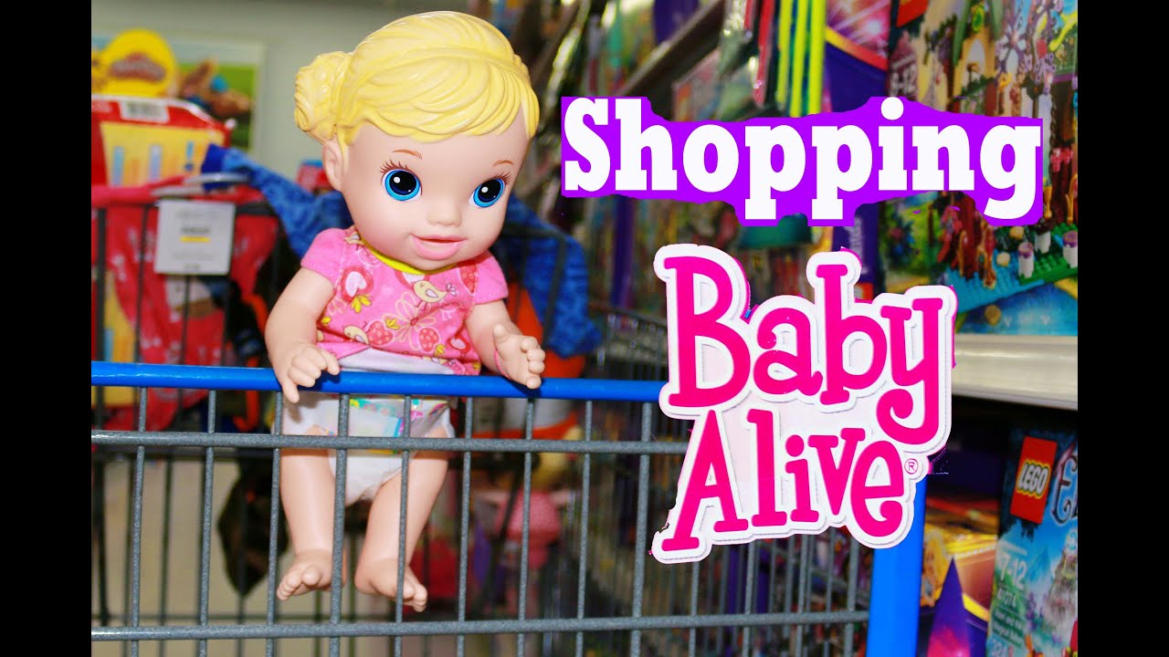 Baby Alive Goes Shopping W Alltoycollector S Baby Youtube