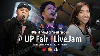 Gambar cover #BlackFridayForPressFreedom: A UP Fair Live Jam