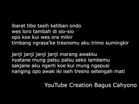 Lirik Lagu Pendhoza Mending Pedot