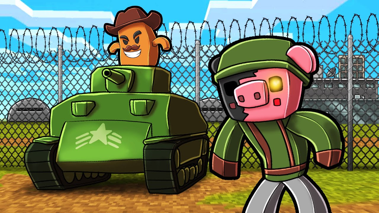Piggy MILITARY in Minecraft! (Chapter 11)