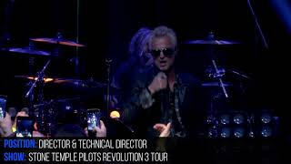 Stone Temple Pilots Revolution 3 Tour