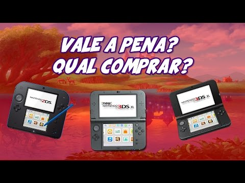 Ainda vale a pena comprar um Nintendo 3DS? Qual modelo comprar? (3DS/New 3DS/2DS/New 2DS XL)