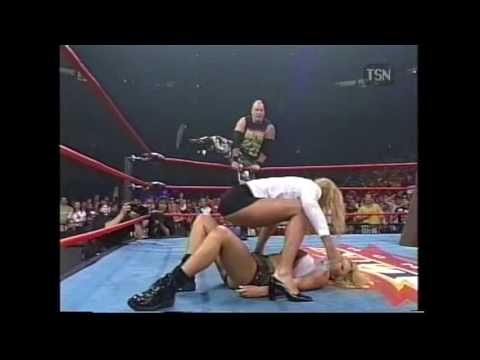 Hardcore Match Miss Hancock Versus Major Gunns