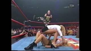 Hardcore Match Miss Hancock Versus Major Gunns