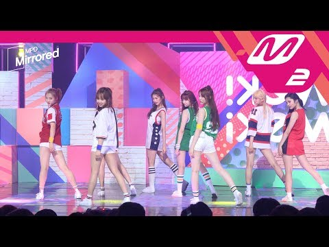 [Mirrored MPD직캠]위키미키 I don't like your Girlfriend 거울모드 직캠 Weki Meki Fancam@엠카운트다운_170810