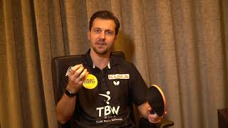 Timo Boll Webcoach Blog: Umstellung Plastikball