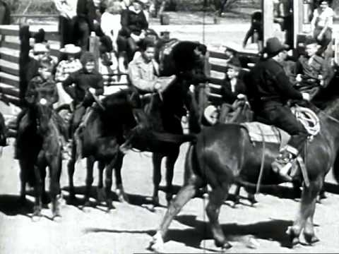Junior Rodeo Daredevils 1949 Youtube