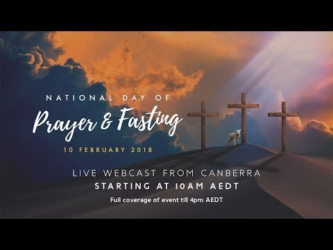 Webcast National Day of Prayer and Fasting 2018
