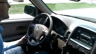 Test Drive 02 Honda CR V