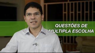 Como resolver questões de múltipla escolha | Gerson Aragão