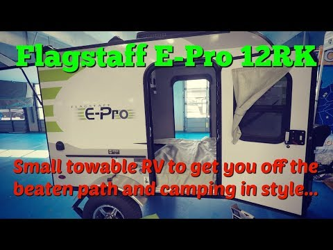 2018 Flagstaff E-Pro 12RK travel trailer at Camping World RV Show