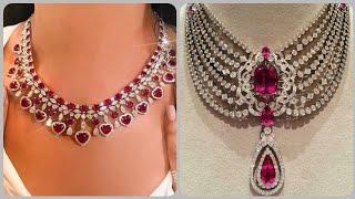 Designer Elegant Luxury Ruby N…