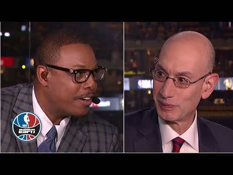 Paul Pierce pitches his dunk contest idea to Adam Silver | NBA Countdown