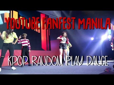 [YTFF] Ella Cruz || Random Play Dance at the YouTube Fan Fest Manila