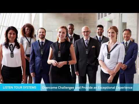 Listen Technologies - ListenTALK Tour Group Video