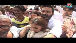 Hero Dhanush Visits Tirumala Devasthanam  Ntv Entertainment