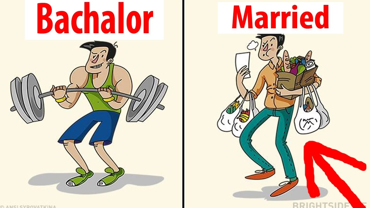Marvelous Bachelor Vs Married Life You Wonu0027t Believe Actually Exist. Funny Club