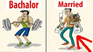 Bachelor Vs Married Life You Won't Believe Actually Exist