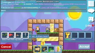 Growtopia:One World Lock and a Few Grass World Trade Scam(Some people dropped some grass in front of a WL to make it look like a lot. I almost got scammed a Riding Raptor by the first guy. Luckily, someone in that world ..., 2014-07-28T07:26:50.000Z)
