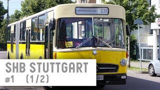 shb stuttgart historische omnibusse und straenbahnen   teil 1 2