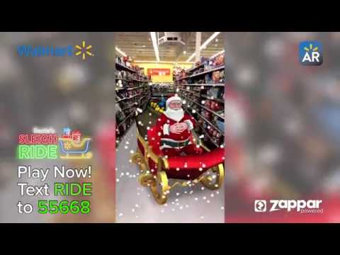 Augmented Reality For Retail - Walmart 2018 Holidays Campaign