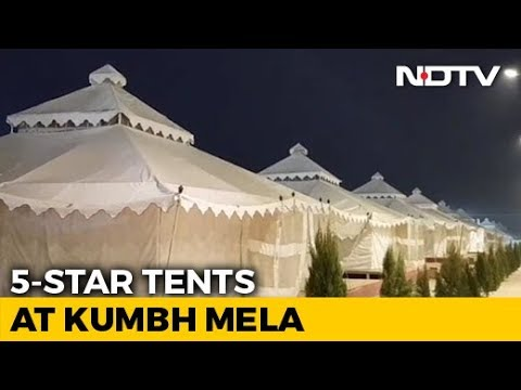 A Peek Into Luxury 5-Star Tents At Prayagraj's Kumbh Mela