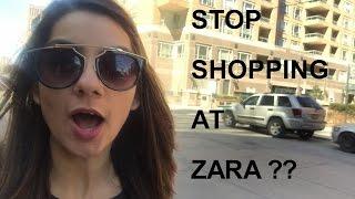 SHOPPING & HAUL | Can't shop at Zara anymore !?