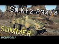 War Thunder Gameplay | OPERATION S.U.M.M.E.R. TANK #1 - SD.KFZ.234/4 OVERVIEW