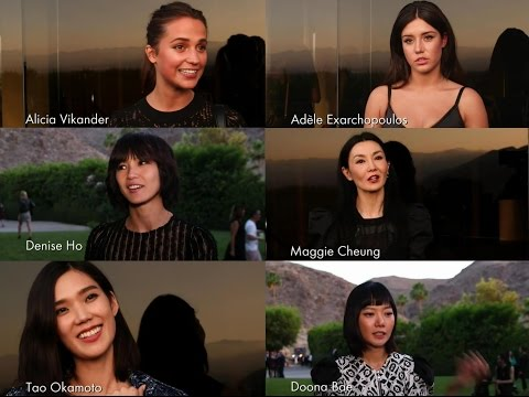 Louis Vuitton| Alicia Vikander| Denise Ho 何韻詩| Maggie Cheung 張曼玉| Adèle E| Tao Okamoto| Doona Bae