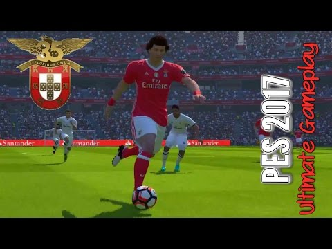 PES 2017: SL Benfica - Real Madrid (PC 1080p 60fps Stadium Galaxy Pitch Patches NoHUD)
