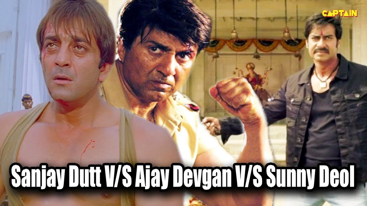 Top Action Movies Of Bollywood || Sanjay Dutt V/S Ajay ...