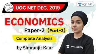 UGC NET Economics | Previous Year Question Paper Analysis | Plan Your Strategy | Simran Kaur