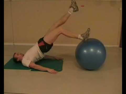 Kroppskoll med balansboll