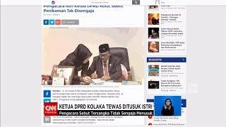 Gambar cover Ketua DPRD Kolaka Tewas Ditusuk Istri