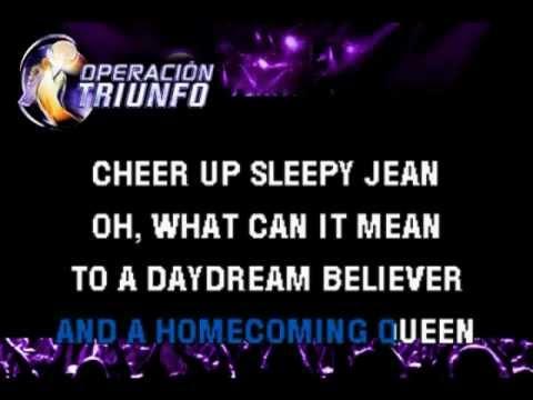 Daydream Believer-karaoke