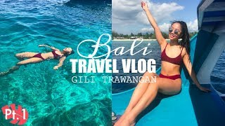 SNORKELLING IN PARADISE ISLAND! // Bali Travel Vlog Part 1 | THERESATRENDS