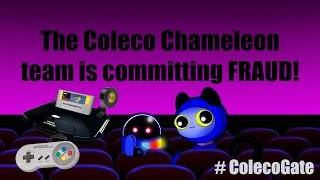 Coleco Chameleon team commit FRAUD at Toy Fair 2016 with fake SNES prototype of failed Retro VGS