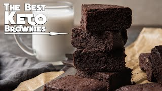 Best Keto Brownies Recipe | Fudgy Coconut Flour Brownies | Low Carb Gluten Free