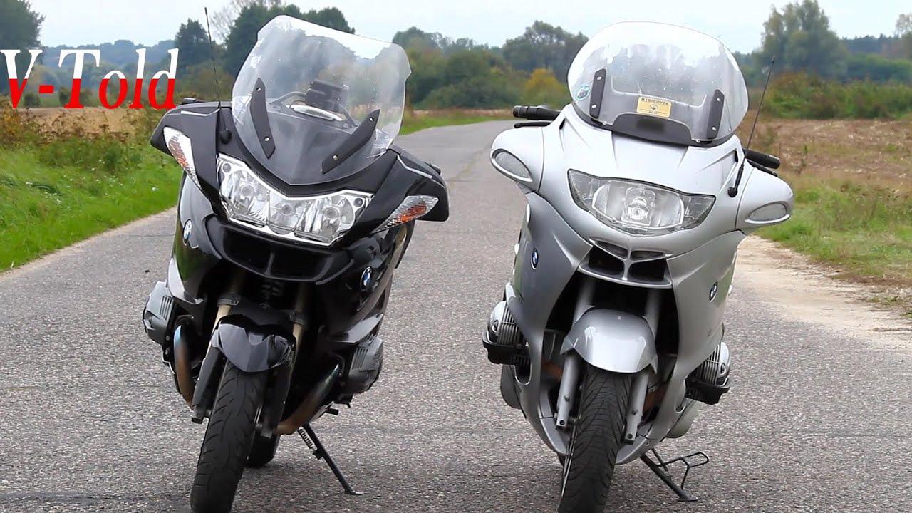 bmw r1200rt vs r1150rt old vs new [ 1280 x 720 Pixel ]