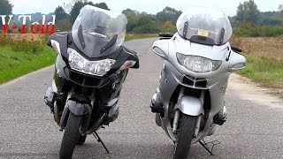 BMW R1200RT vs R1150RT - old vs new