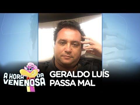 Geraldo Luís passa mal durante gravação em Goiânia