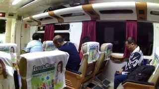 My Trip My Adventure, Kereta Api Cirebon Express, Kelas Eksekutif, dari Cirebon ke Gambir
