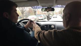 Урок вождения в Нью Йорке на русском