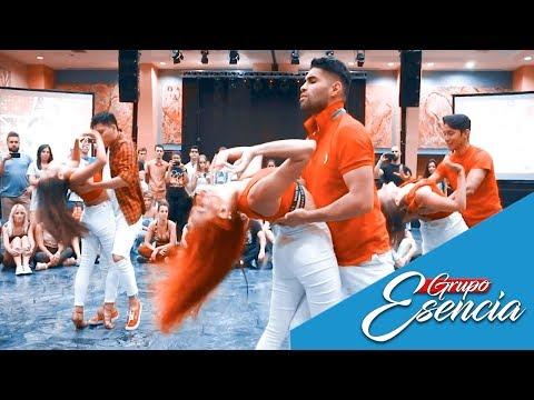 Carlos y Alejandra – Melodia de Amor / Bachata dance Grupo Esencia Madrid / workshop bachatarte 2019