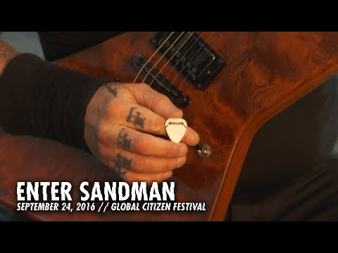 Metallica: Enter Sandman (Global Citizen Festival, New York, NY - September 24, 2016)