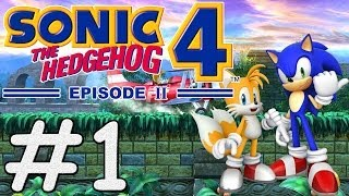 Sonic The Hedgehog 4 Episode 2 (PC) - #1 - Sylvania Castle Zone