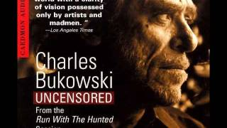 charles bukowski - a radio with guts YouTube Videos