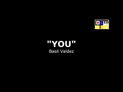 You - Basil Valdez - Piano accompaniment